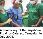 Cataract patient